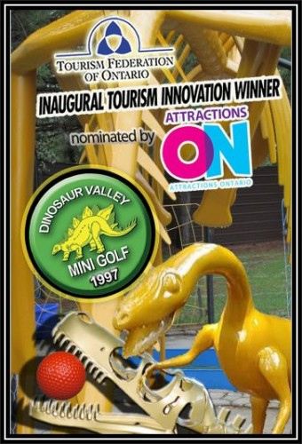 Dinosaur Valley Mini Golf in Sudbury - Amusement Parks, Water Parks, Mini-Golf & more in  Summer Fun Guide