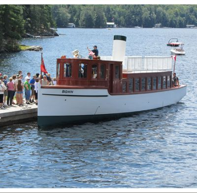 SS Bigwin Steamship Cruises in Dorset, Lake of Bays - Boat & Train Excursions in  Summer Fun Guide