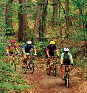 Hiking and Biking Trails in Ontario (Ontario Trails) in  - Parks & Trails, Beaches & Gardens in CENTRAL ONTARIO Summer Fun Guide