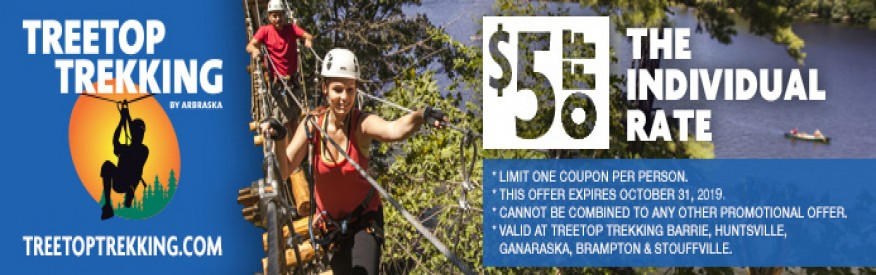 coupon treetop trekking