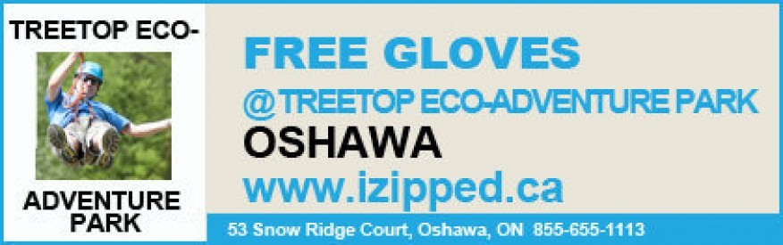 Treetop Eco-Adventure Park coupon - Free Gloves